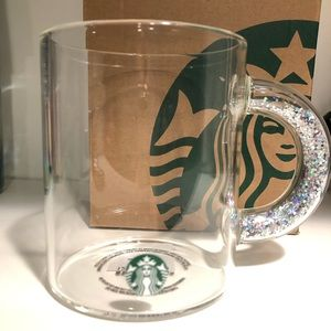 Starbucks cup glitter
